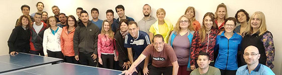 Obras recibió la jornada de capacitación docente en Tenis de Mesa