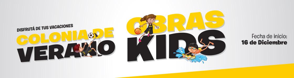 ¡Abierta la inscripción a la Colonia Obras Kids 2019!