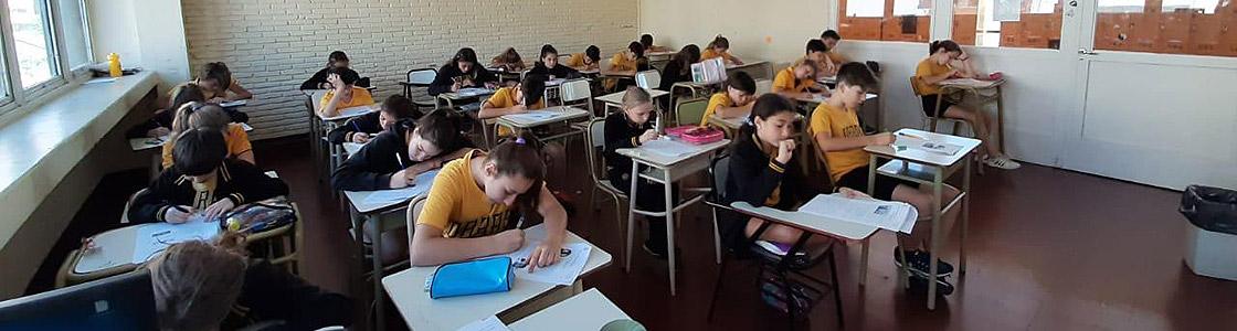 Se realizaron los exámenes del Lenguas Vivas con total éxito